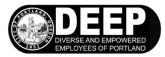 Deep logo b&w
